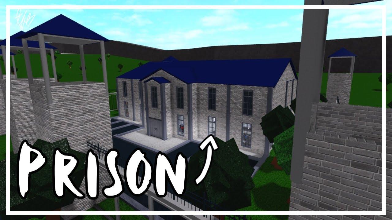 I Built A PRISON On BLOXBURG YouTube