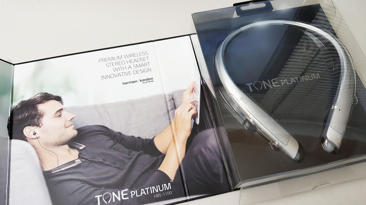 ebd5d495918 LG Tone Platinum HBS-1100 Review and Unboxing - YouTube