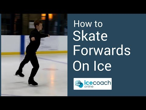 Learn How to Skate Forward on The Ice