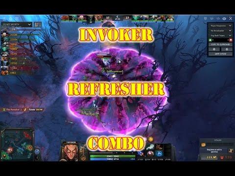 Dota   Invoker Combo New Invoker How To Video