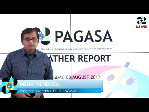 Public Weather Forecast Issued at 4:00 AM August 08, 2017