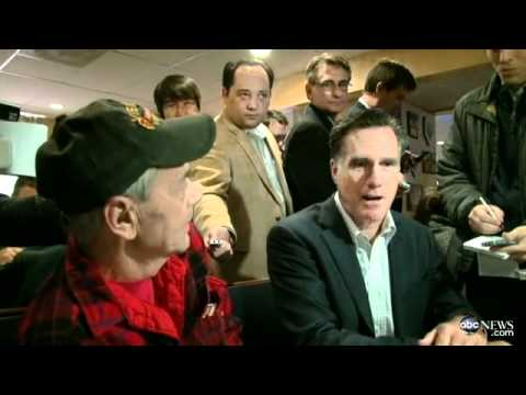 Gay Veteran talks to Mitt Romney - ABC News