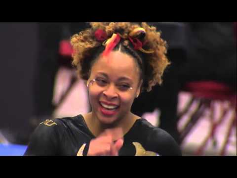 DU Gymnastics: Nina McGee Perfect 10.0 on Floor - March 4, 2016