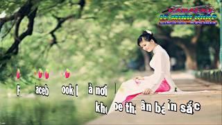 [karaoke] Cô gái facebook