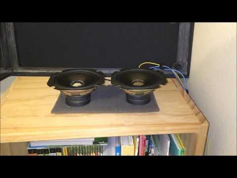 JVC full-range speaker unit test