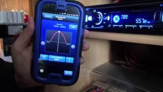 The Alpine TuneIt App working with Galaxy S4