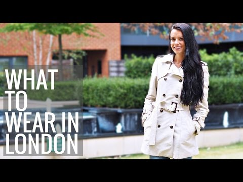 1e4f021a4 What to Wear While Visiting London (Women + Men) - YouTube