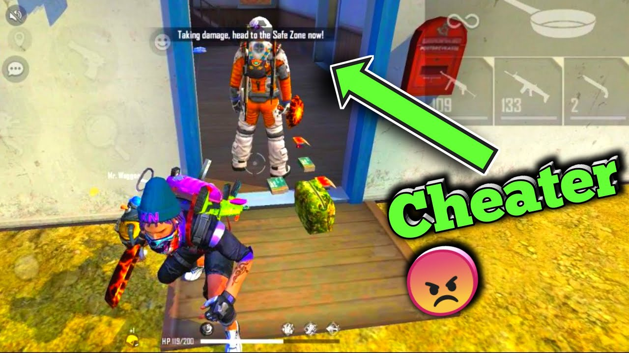 Cheater Enemy 😠 Must Watch Free Fire Short Video #Shorts #Short