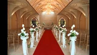 Beautiful Church wedding decoration