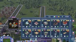 SimCity Societies: Destinations Gameplay - Fun City