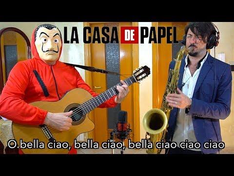BELLA CIAO - La Casa de Papel (Saxophone Cover)