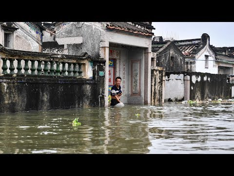 Two killed, two missing, 85,000 relocated as downpour lashes Guangdong