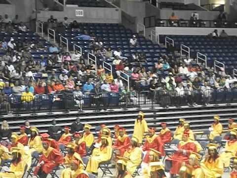Shroder Paideia High School. Graduation ceremony at cintas exit