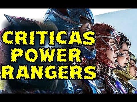 POWER RANGERS 2017 ES LA NUEVA BATMAN V SUPERMAN . LOS CRITICOS ESTAN LOCOS