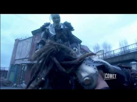 Stargate Atantis - Ronon Fights An Über-Wraith (3-4)