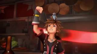 New Kingdom Hearts 3 footage from Tokyo Game Show!