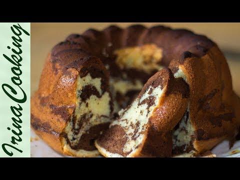 Мраморный кекс (классический рецепт) | Marble Cake (Classic Recipe)