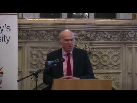 Sir Vince Cable - After the Storm: The World Economy & Britain's Economic Future