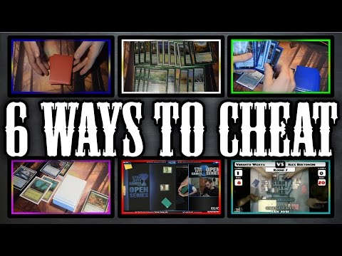 How To Cheat In MAGIC THE GATHERING! 6 Ways Of Cheating! **PART 2**