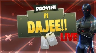 (LIVE FORTNITE F1) PROVINI PER TEAM F1