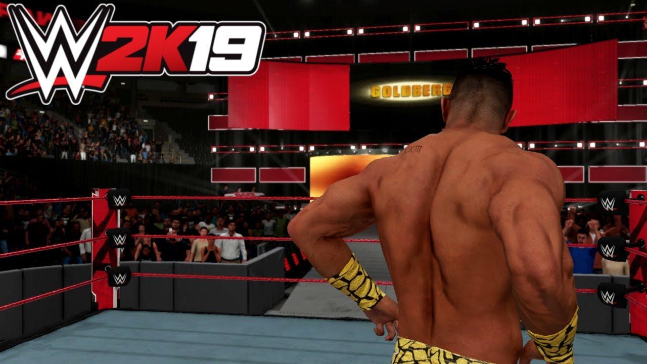 Download Goldberg vs EC3   WWE 2K19 PC #OneMoreStreak