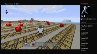 Minecraft live funny moment game play with friend