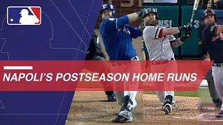 Napoli hits 8 career postseason home runs