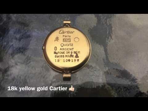 LJR#62 underwater metal detecting Cartier watch & rings