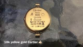 LJR#62 underwater metal detecting Cartier watch & rings