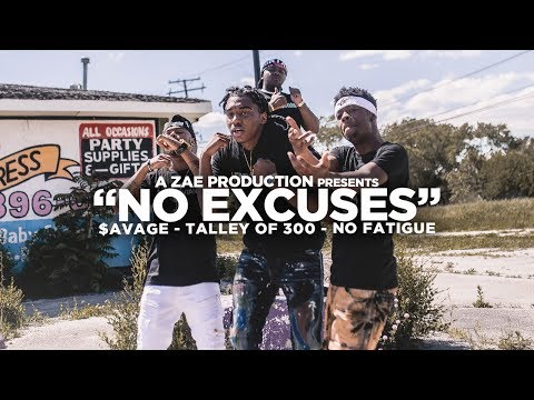 $avage x Talley Of 300 x No Fatigue  No Excuses  Music Video Shot By @AZaeProduction