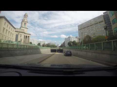 GOPRO HERO 4 As A Dash Cam In Washington DC Uber , Lyft
