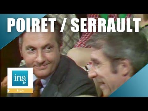 Jean Poiret et Michel Serrault 'La Cage Aux Folles' | Archive INA