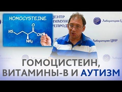 ГОМОЦИСТЕИН, витамины группы В и АУТИЗМ. Рассказывает доктор Гузов.