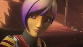 Sabine Opens Up To Ezra | Star Wars Rebels