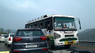 Chandigarh Kalka parwanoo Solan shimla road trip in rain | Road conditions || Vlog-26