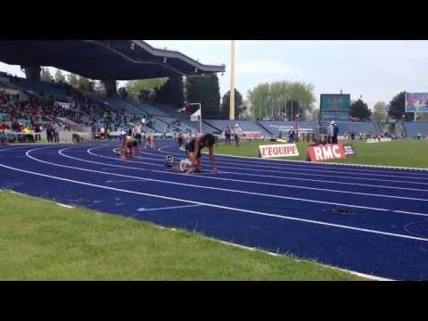 400 m femme Interclubs 2013 Phara ANACHARSIS