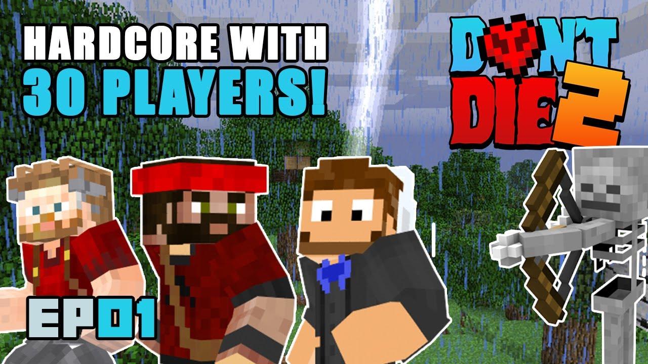 Don't Die 2: Don't Die Harder | Ep01 | Minecraft Hardcore SMP #dd2