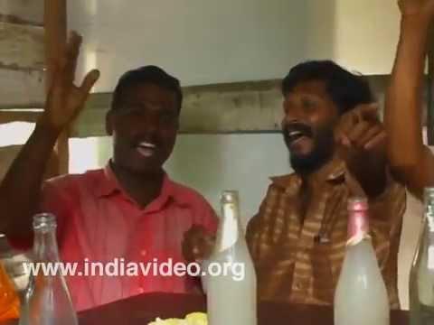 Toddy Shop In Kerala | Punchiri Kallushap Alappuzha | Aazhi Makal Orumichu