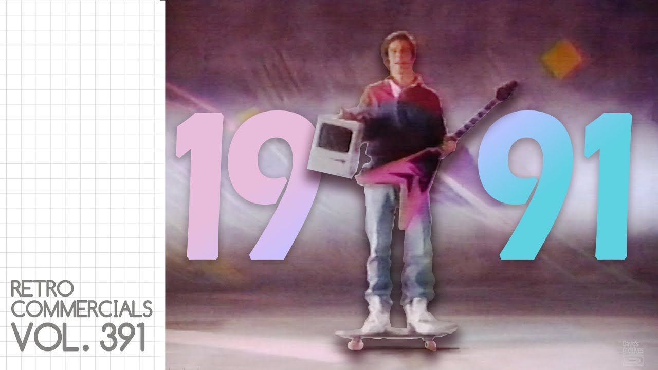 Download Things were different in 1991 - Retro Commercials Vol 391
