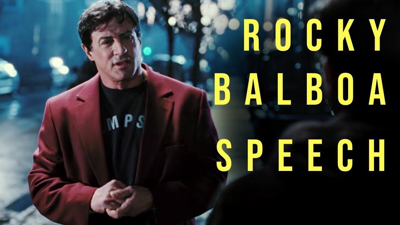 Rocky Balboa Motivational Speech To His Son