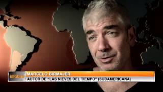 """Marcelo Birmajer autor de """"Las nieves del tiempo"""""""