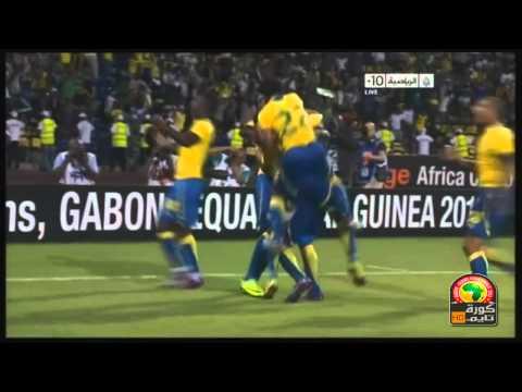 Gabon 1-0 Tunisia Highlights CAN 2012   Group C