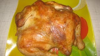 """Самый простой рецепт """"курица в рукаве"""" Очень вкусная."""