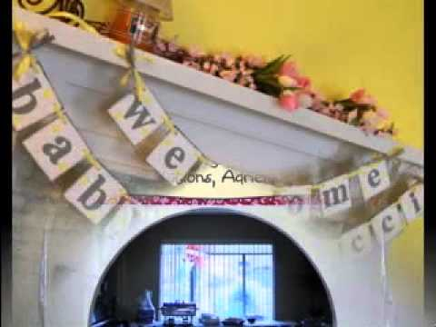 DIY Baby Shower Banners Decorations Ideas