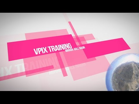 How to to Make a Silver Mirror Ball Nadir with VPiX