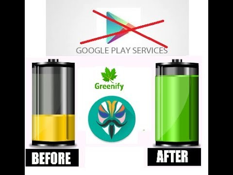 How To Disable Google Play Services To Save Battery - (Root Needed)