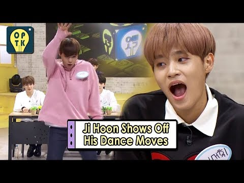 [Oppa Thinking - Wanna One] Ji Hoon Shows Off His Dance Moves, 오빠생각 20170911