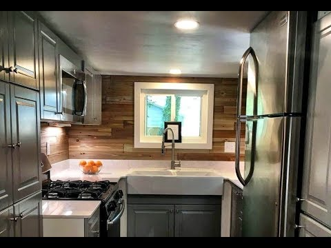 Sleek Modern Tiny House For Sale Youtube