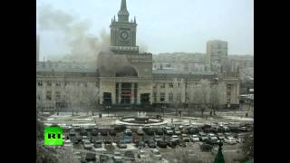 RAW: Caught on CCTV  Moment of Volgograd railway station deadly explosion