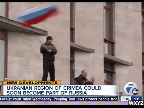 Crimea To Vote On Joining Russia March 16th